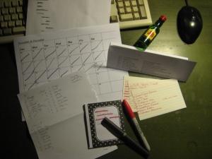 Jessa Slade organizational tools