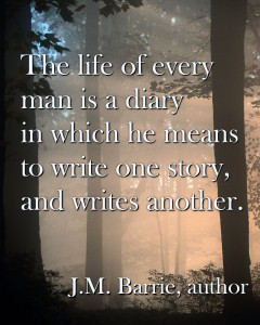 JM Barrie quote