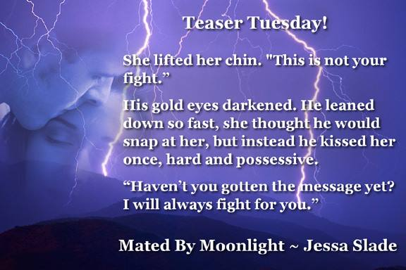 Mated By Moonlight Jessa Slade lightning