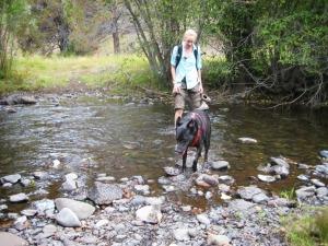 Mud Ankle Creek crossing