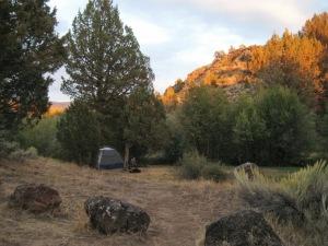 Steens Mountain Oregon camp