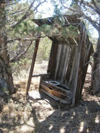 Steens outhouse