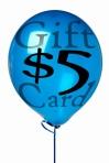 $5 gift card sml