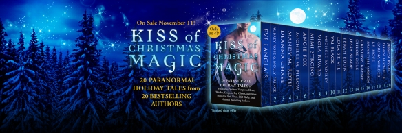 Kiss of Christmas Magic holiday paranormal romance box set