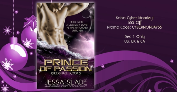Prince of Passion by Jessa Slade, science fiction romance