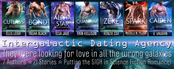 Intergalactic Dating Agency 7 Authors ~ 21 Stories ~ 1 Universe of Alien  Loving! Big Sky Alien Mail Order Brides